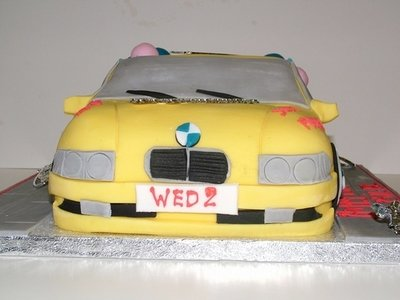 BMW Shape Cake