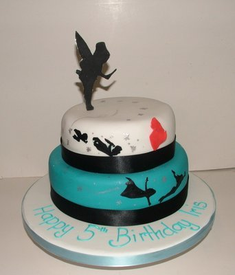 Peter Pan 2 Tier Cake