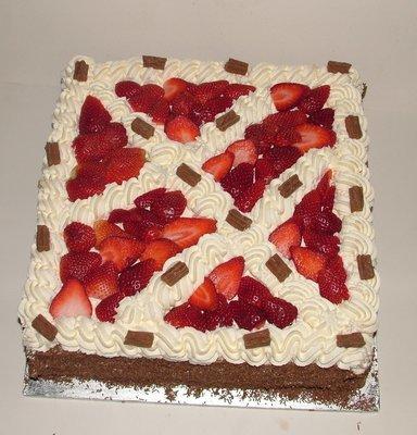 Fresh Cream Square 14
