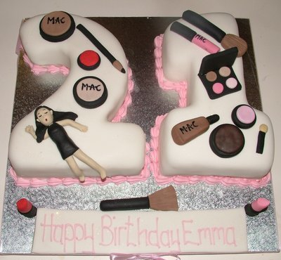 Party girl's 21st Cake