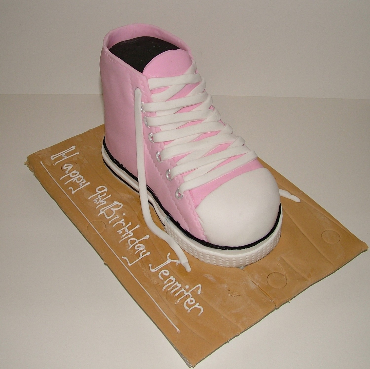 Pink Converse Trainer