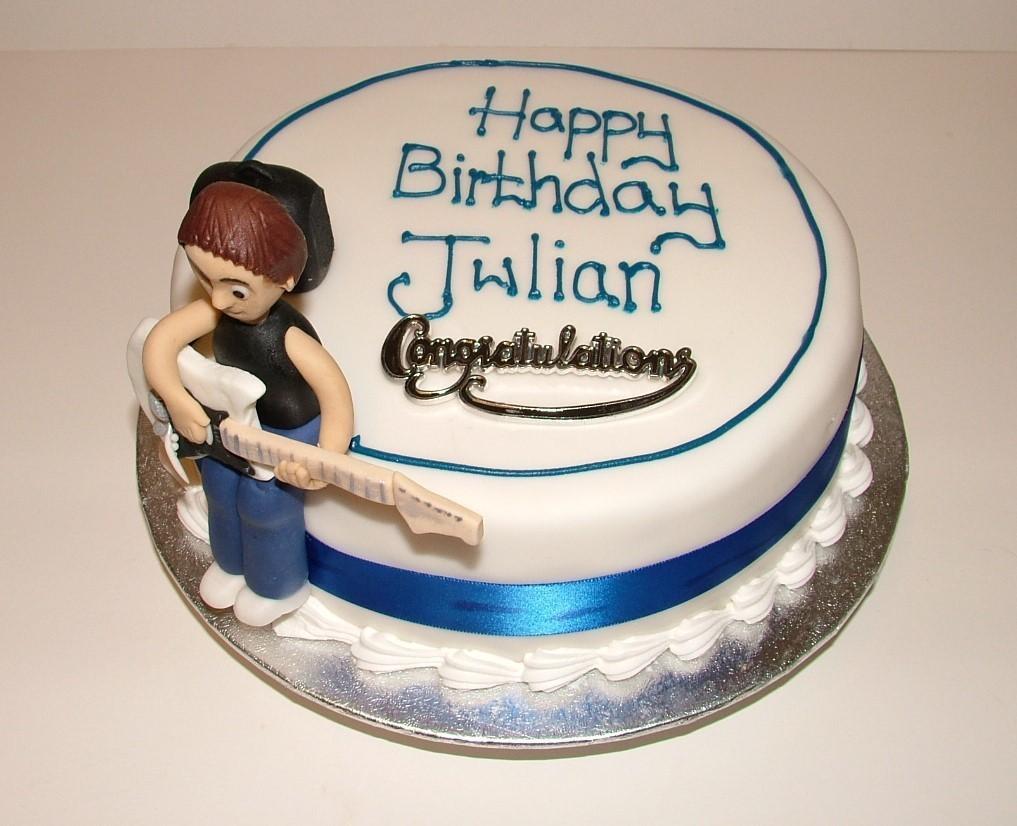 Round Cake (optional Icing figure)
