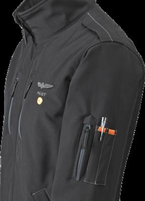 Giacca Aeroclub Design4Pilots Softshell