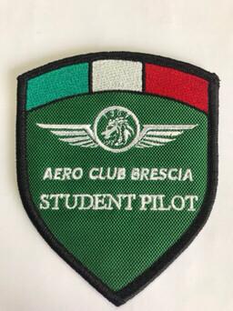 Patch per Giubbotto Aeroclub Brescia