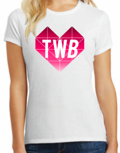 WOMEN'S TWB GEOMETRIC HEART T-SHIRT