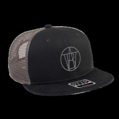 BLACK/GRAY TWB INSIGNIA HAT