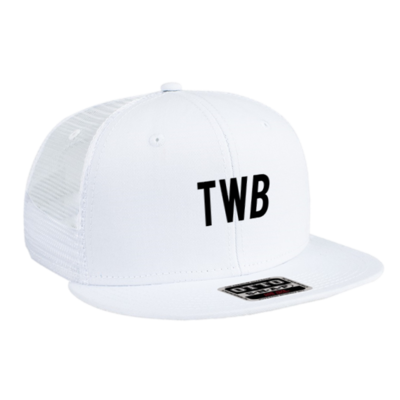 WHITE TWB LOGO HAT