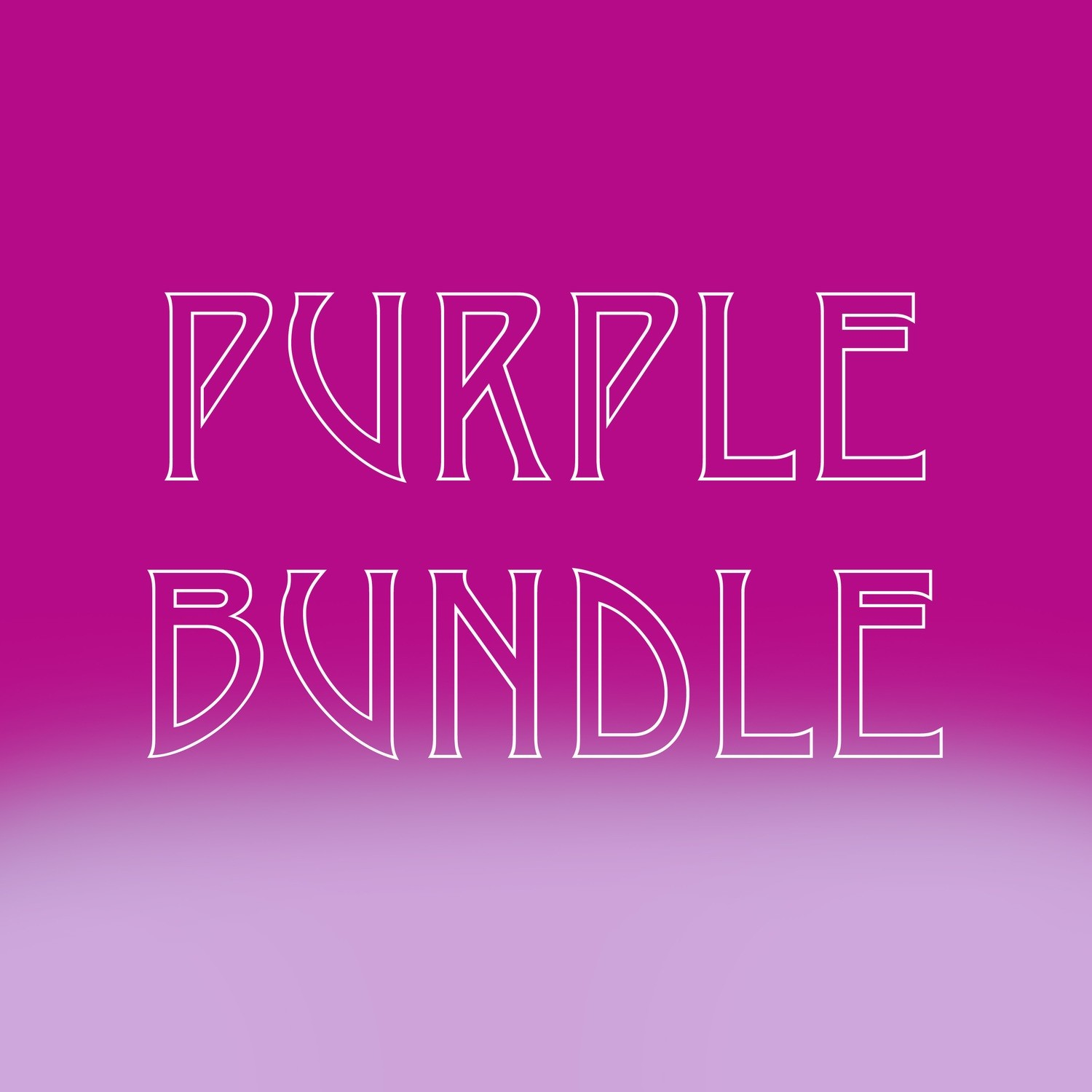 PURPLE BUNDLE