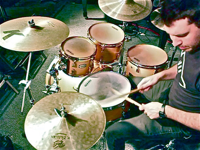 ANDY FISENDEN (Drums)  1 Full Video