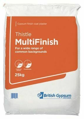 Thistle Multi Finish Plaster 25 Kg