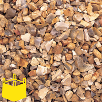 20mm Golden Flint Chippings