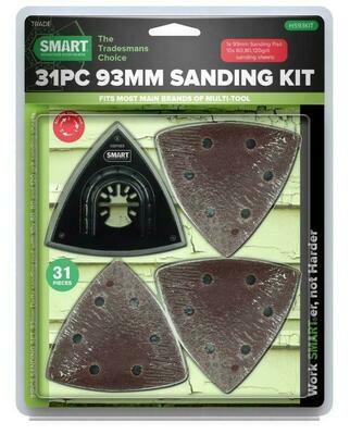 SMART 31 Piece 93mm Complete Sanding Kit