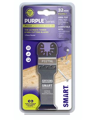 SMART 32mm Deep Cut (67mm) Purple Series Ultimate Titanium Alloy Bi-metal