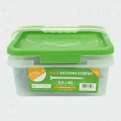 Timco Solo Decking Screw 4.5 X 60MM (TUB 1000)