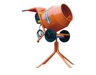 Belle Electric Cement Mixer C/W Stand 3 Cu Feet