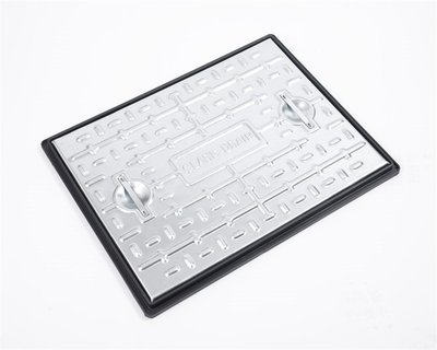 Galvanised Manhole Cover and Frame 600mm x 450mm Domestic (PC6AG)