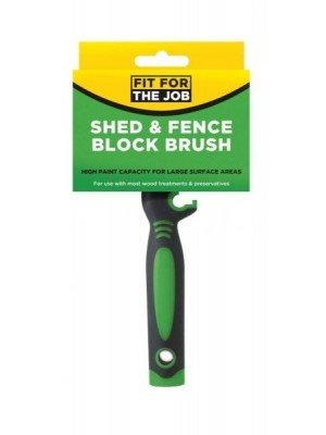 Fit for the Job Shed & Fence Block Brush 12cm x 3cm