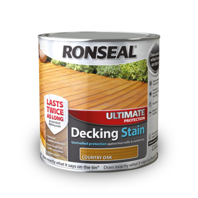 Ronseal Ultimate Decking Stain 2.5 Litre
