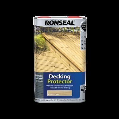 Ronseal Decking Protector 5 Lt Natural