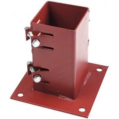 Bolt Down Fence Support 75 x 75mm