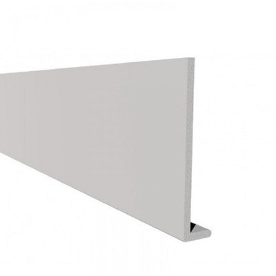 9mm Capping Board (uPVC) White 5m