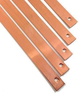 "6"" Copper Strip Slate Clip (Tingle)"