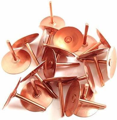"""3/4"""" Copper Disc Rivet"""