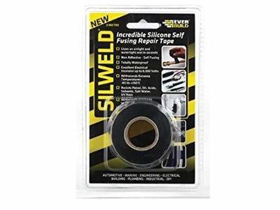 Silweld Silicone Repair Tape 3 Mtr Black