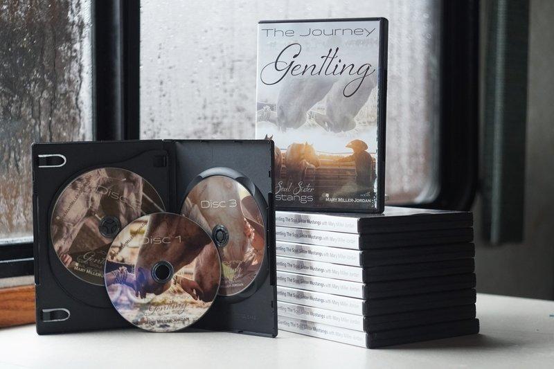 DVD 3 Disc Set - Journey Gentling the Soul Sister Mustangs