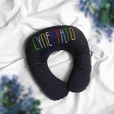 Дорожная подушка Супер тато DOP_F001