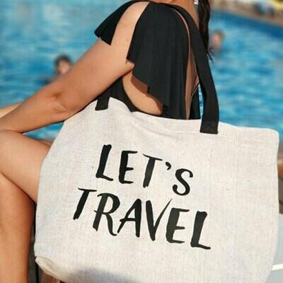 Пляжная сумка Beach Let's travel KOTB_19I006