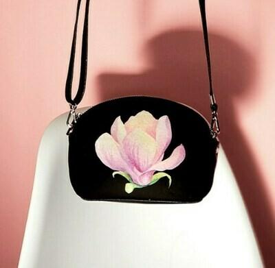 Маленькая женская сумочка Coquette Магнолия COQ_CLF002_BL