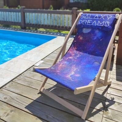 Шезлонг деревянный Galaxy dreams SHZL_19L015