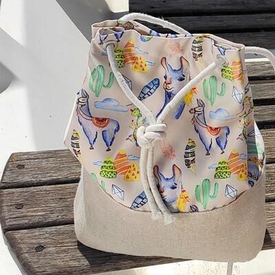 Рюкзак тканевый Summer Ламы RSUM_20A014