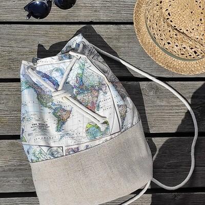Рюкзак тканевый Summer Карта RSUM_20A008