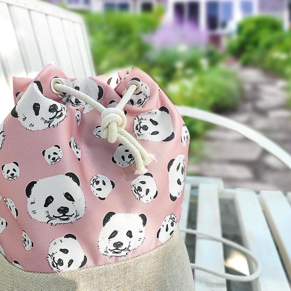 Рюкзак тканевый Summer Панды