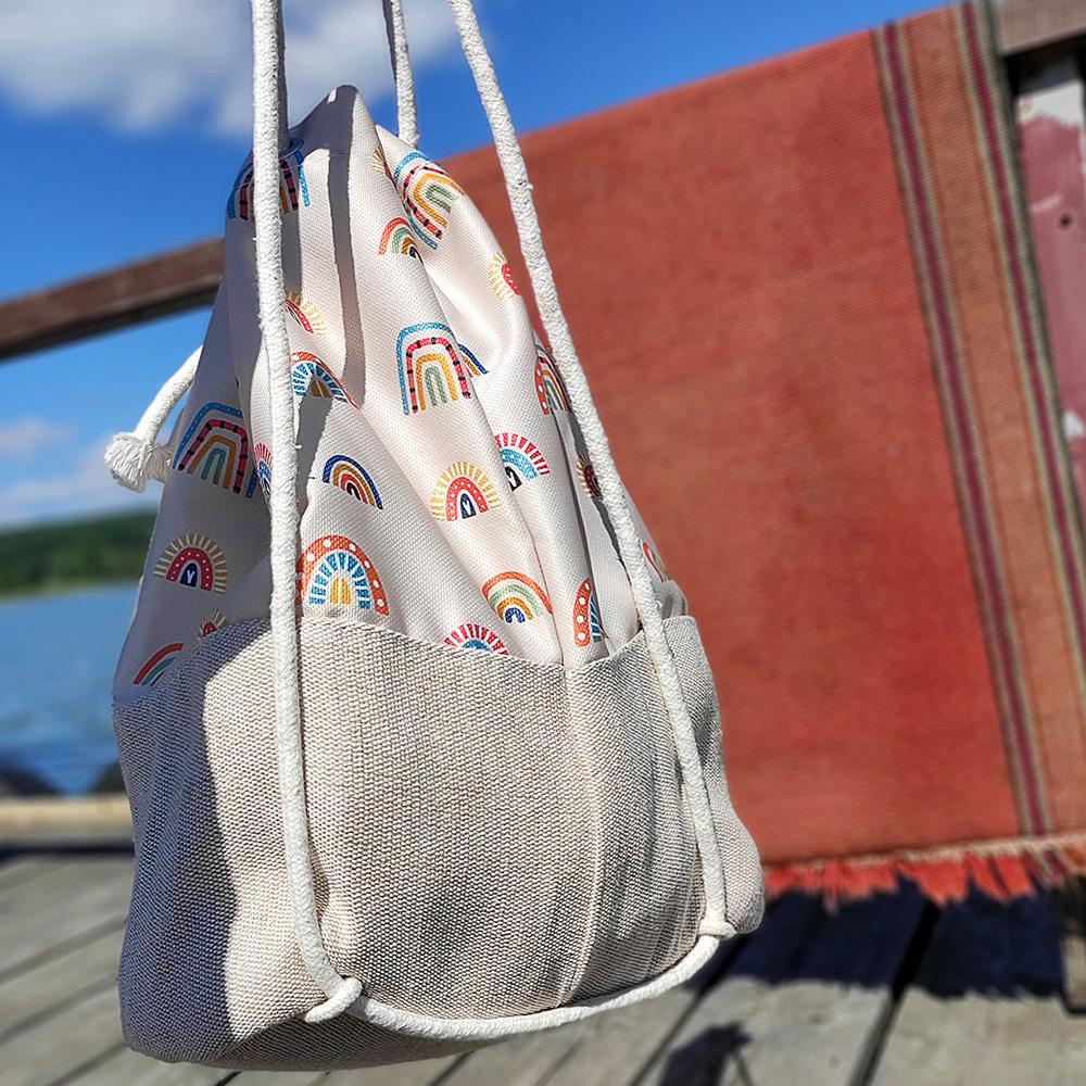 Рюкзак тканевый Summer Ламы