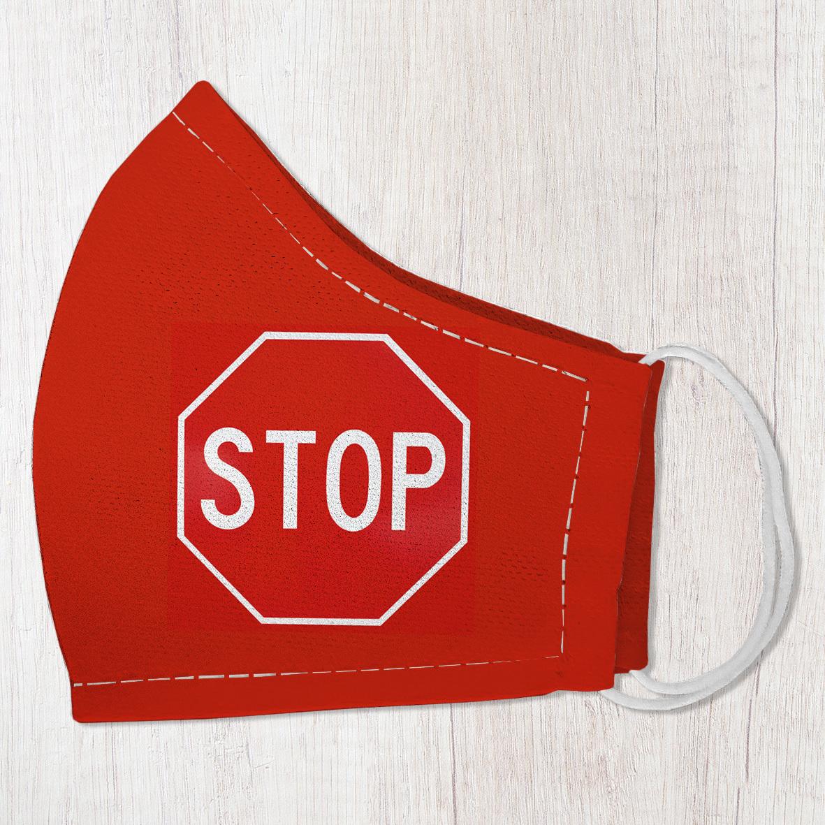 Маска защитная для лица, размер M-L Stop