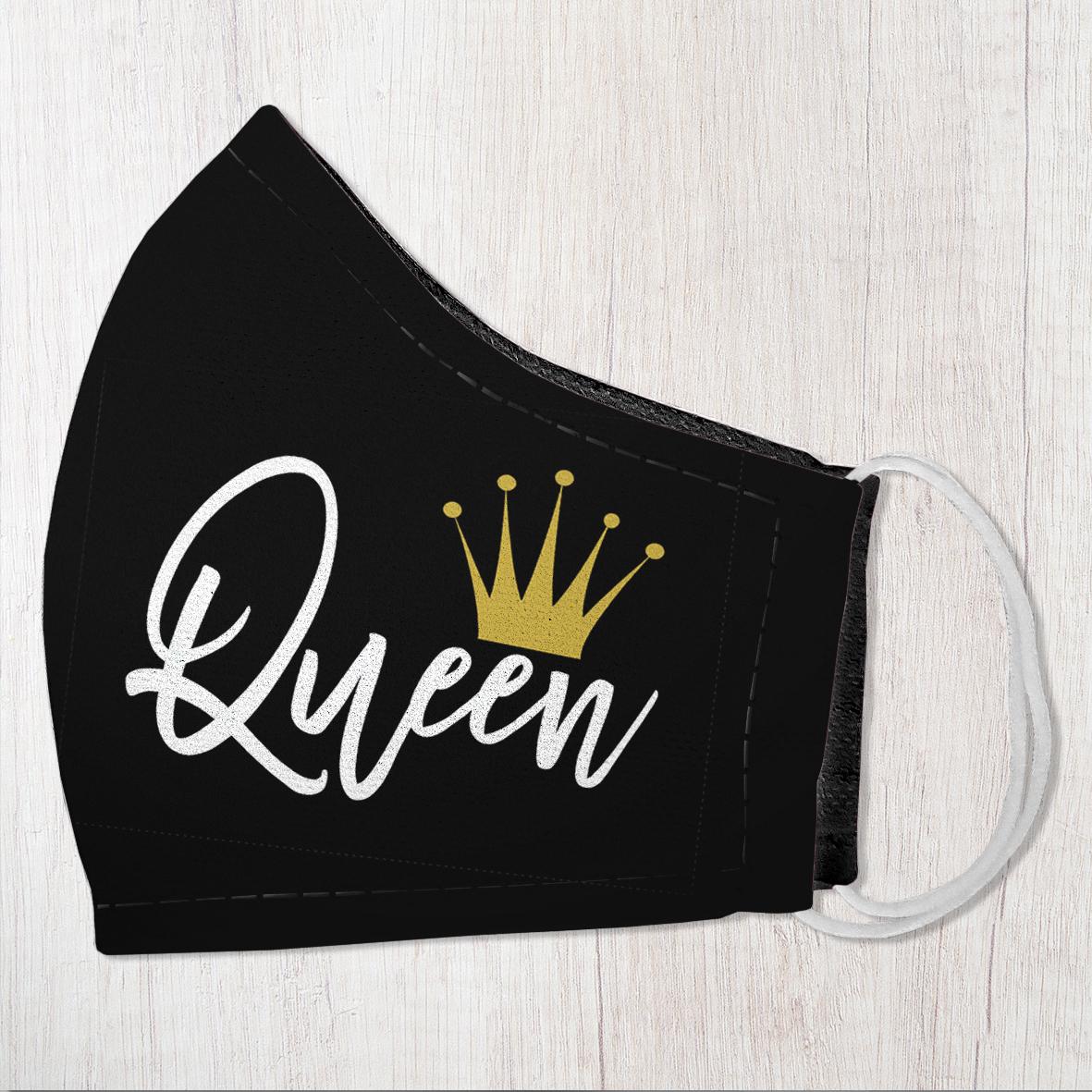 Маска защитная для лица, размер S-M Queen