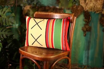 Подушка для интерьера 45х32 см Орнамент крестики 43PHB_TFL009_BL