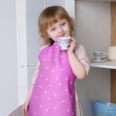 Фартук детский полноцветный Звездочки FRTCD_21A005