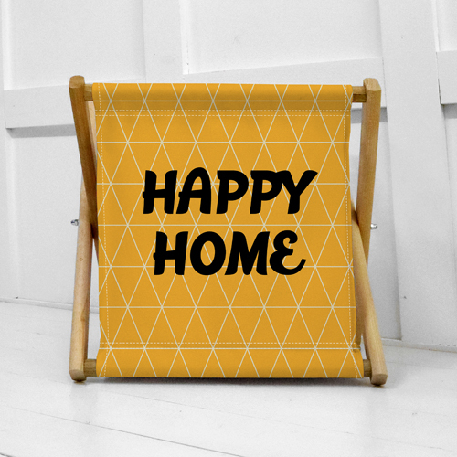 Складная корзина для хранения Happy home