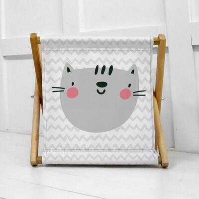 Складная корзина для хранения Котик KOR_21S037