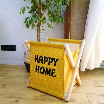 Складная корзина для хранения Happy home KOR_21S034