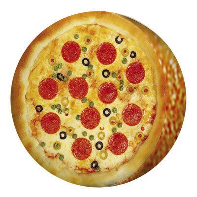 Подушка круглая Пицца PP_15M102