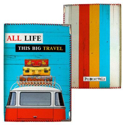 Обложка на паспорт All life this big travel PD_14S063_KR