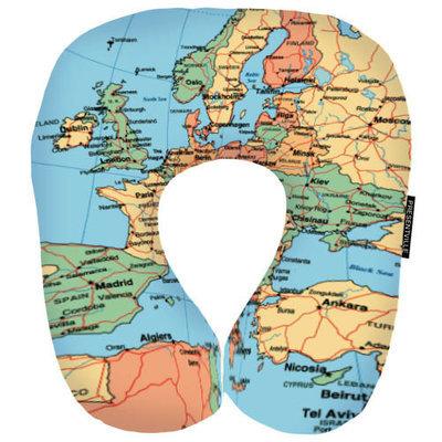 Дорожная подушка Карта DOP_16J074