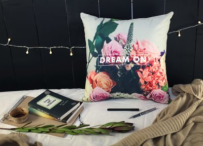 Подушка для дивана 45х45 см Dream on 45BP_ORG026