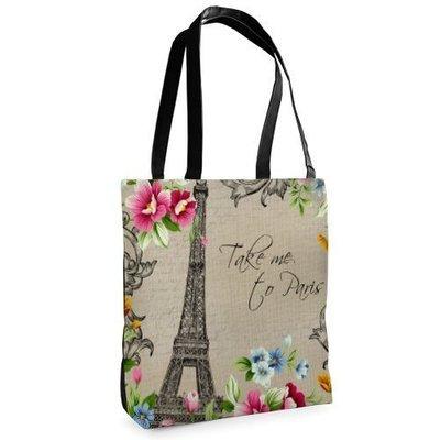 Сумка женская тканевая Tenderness Take me, to Paris ST_14M017_BL