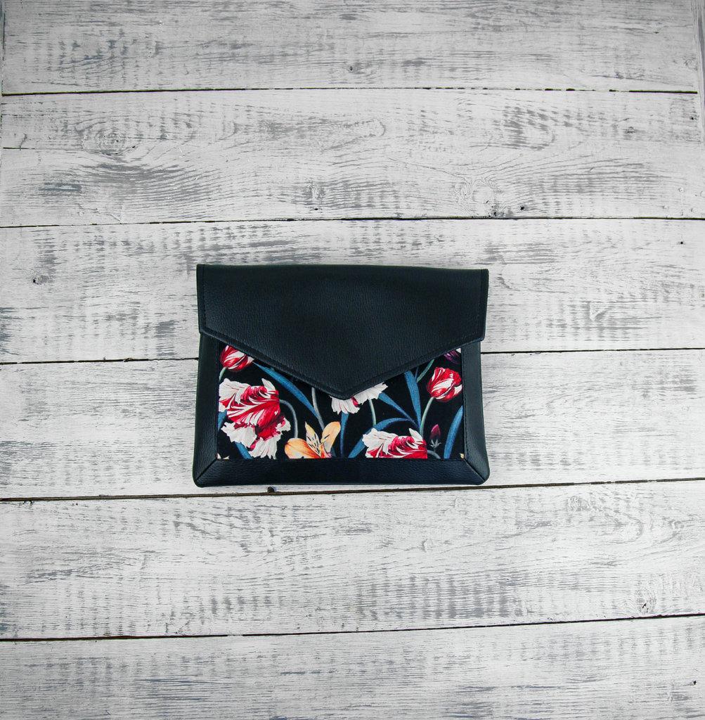 Клатч конверт Лилии